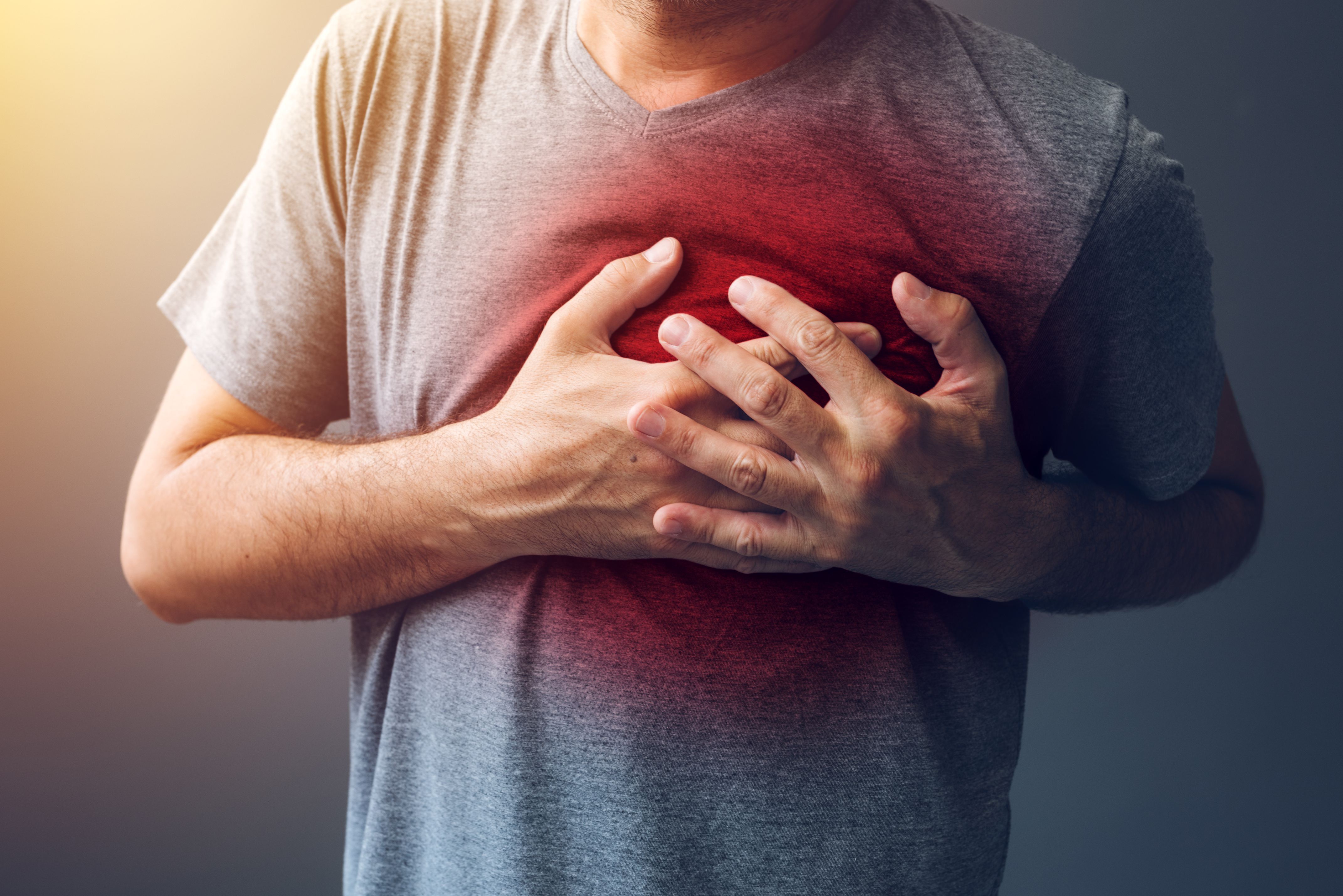 Cares heart in chest Find out the cause 68
